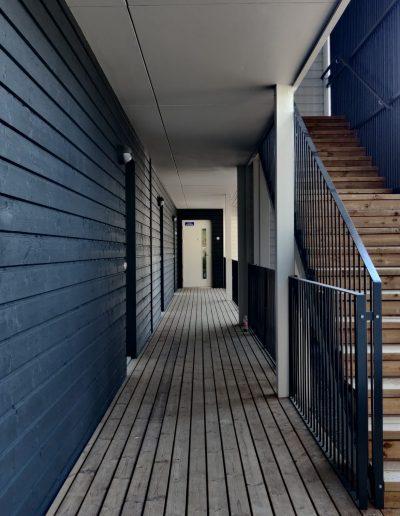 Kärkimaalaus Oy maalaa talon kuin talon, Oulun seudulla.