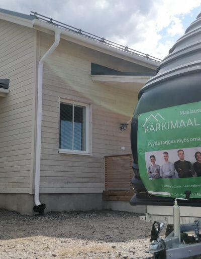 Kärkimaalaus Oy toteuttaa monenlaiset maalaustyöt Oulun seudulla.